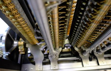 Modern recreation of Babbage's Difference Engine.