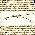 Diagram from Galileo's Second 'Letter on Sunspots.'